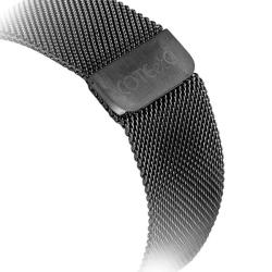 Ремешок из нержавеющей стали для Apple Watch 42/ 44мм COTEetCI W6 MAGNET Band (Графитовый)