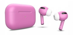 Беспроводная гарнитура Apple AirPods Pro Color (Ультро-розовый матовый)