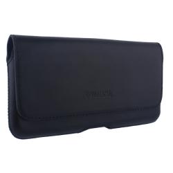 Чехол-кобура кожаный Valenta с двойным креплением (165x85x9mm 5.5) Черный