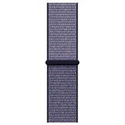 Ремешок для Apple Watch 38/ 40мм W17 Magic Tape Band (Midnight Blue)