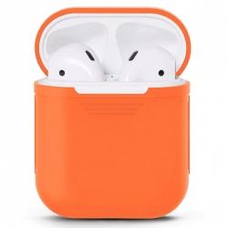 Чехол силиконовый для AirPods (Orange)