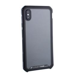 Чехол-накладка для Apple iPhone XS Max Element Case G-Solace (Черный ободок)