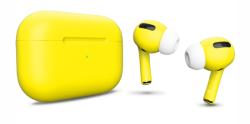 Беспроводная гарнитура Apple AirPods Pro Color (Светло-желтый матовый)