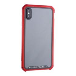Чехол-накладка для Apple iPhone XS Max Element Case G-Solace (Красный ободок)