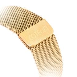 Ремешок из нержавеющей стали для Apple Watch 42мм COTEetCI W6 MAGNET Band (Розовое золото)