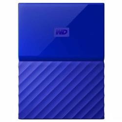 Внешний жесткий диск WD My Passport 1Tb (WDBBEX0010BBL-EEUE) Синий