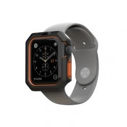 Чехол для Apple Watch 38/ 40mm UAG Civilian Watch Case (Черно/ Оранжевый)