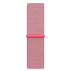 Ремешок для Apple Watch 38/ 40мм W17 Magic Tape Band (Hot Pink)