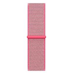 Ремешок для Apple Watch 38/ 40мм W17 Magic Tape Band (Hot Pink)
