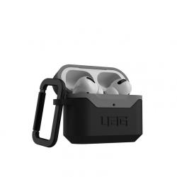 Чехол для AirPods Pro UAG Hardcase V2 (Черный-серый)