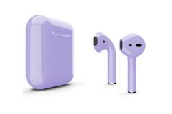 Беспроводная гарнитура Apple AirPods 2 Color без беспроводной зарядки чехла (Сиреневый глянцевый)