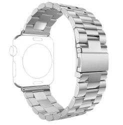 Ремешок из нержавеющей стали для Apple Watch 42/ 44мм Classic (Серебристый)