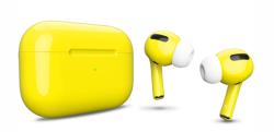 Беспроводная гарнитура Apple AirPods Pro Color (Светло-желтый глянцевый)