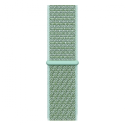 Ремешок для Apple Watch 38/ 40мм W17 Magic Tape Band (Marine Green)