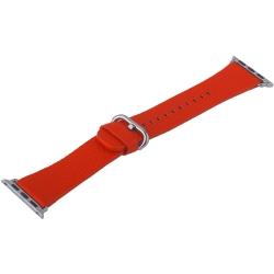 Ремешок кожаный для Apple Watch 42/ 44мм COTEetCI W22 (Красный)
