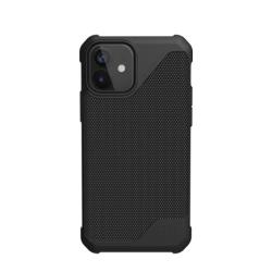 Противоударный чехол для iPhone 12 mini UAG Metropolis LT ткань Armortex (Черный)