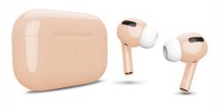 Беспроводная гарнитура Apple AirPods Pro Color (Бежевый глянцевый)