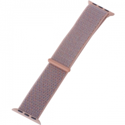 Ремешок для Apple Watch 42/ 44мм COTEetCI W17 Magic Tape Band (Розовый)