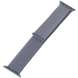 Ремешок для Apple Watch 38/ 40мм COTEetCI W17 Magic Tape Band (Серый)
