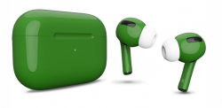 Беспроводная гарнитура Apple AirPods Pro Color (Темно-зеленый глянцевый)