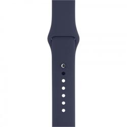 Ремешок спортивный для Apple Watch 38/ 40мм Sport Band (Midnight Blue)