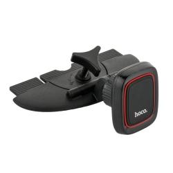Автомобильный держатель магнитный Hoco CA25 в CD-слот (Черный)