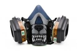 Дизайнерский Респиратор для защиты органов дыхания (Питбуль)