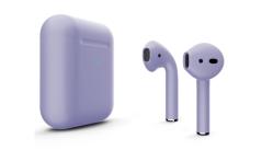 Беспроводная гарнитура Apple AirPods 2 Color беспроводная зарядка чехла (Сиреневый матовый)