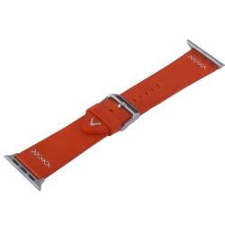 Ремешок кожаный для Apple Watch 38/ 40мм COTEetCI W33 Fashion (Красный)
