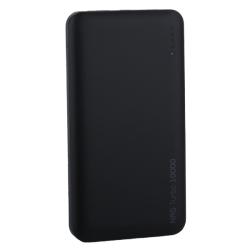 Внешний аккумулятор Deppa NRG Turbo 10000 mAh (USB: 5-6V/3A, 9V/2A) Черный