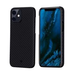 Чехол для iPhone 12 mini Pitaka MagEZ Case в полоску (Черно-серый)
