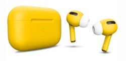 Беспроводная гарнитура Apple AirPods Pro Color (Желтый матовый)