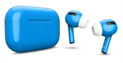 Беспроводная гарнитура Apple AirPods Pro Color (Голубой глянцевый)