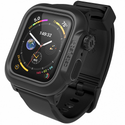 Водонепроницаемый чехол для Apple Watch Series 4/5/6/SE 44 мм Catalyst Waterproof (Черный)