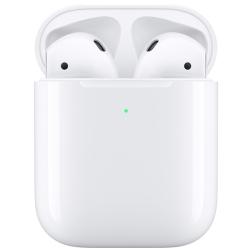 Беспроводная гарнитура Apple AirPods 2 (беспроводная зарядка чехла) MRXJ2RU/A