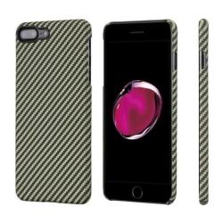 Кевларовый Чехол Pitaka для Apple IPhone 8 Plus в полоску (Черно-Зеленый)