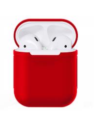 Чехол силиконовый для AirPods 1/ 2 (Red)