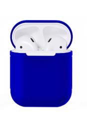 Чехол силиконовый для AirPods 1/ 2 (Blue)