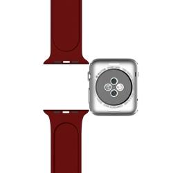 Ремешок спортивный для Apple Watch 42/44мм Sport Band (Rose Red)