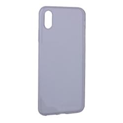 Чехол силиконовый для iiPhone XS Max Hoco Light Series (Дымчатый)