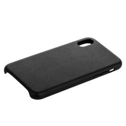 Накладка кожаная для iPhone X (5.8) COTEetCI Elegant (Черный)