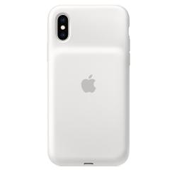 Чехол-аккумулятор для iPhone XS Apple Smart Battery (Белый)