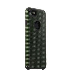 Чехол-накладка для iPhone 7/ 8 COTEetCI Vogue Silicone Case (Черный/ Зеленый)