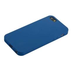Чехол-накладка для iPhone SE/ 5S/ 5 Anycase Silicone (Синий)