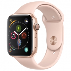 Умные часы Apple Watch S4 GPS 40mm Gold Aluminum Case with Pink Sand Sport Band