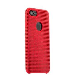 Чехол-накладка для iPhone 7/ 8 COTEetCI Vogue Silicone Case (Красный/ Черный)