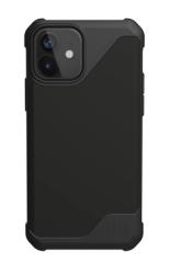 Противоударный чехол для iPhone 12 mini UAG Metropolis LT полиуретан (Черный)