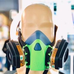 Цветной Респиратор для защиты органов дыхания (Салатовый)