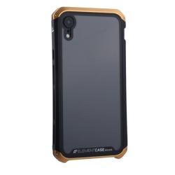 Чехол-накладка для Apple iPhone XR (6.1) Element Case G-Solace (Золотисто-черный ободок)