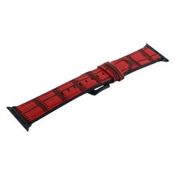 Ремешок кожаный для Apple Watch 38/ 40мм COTEetCI W37 (Красный)